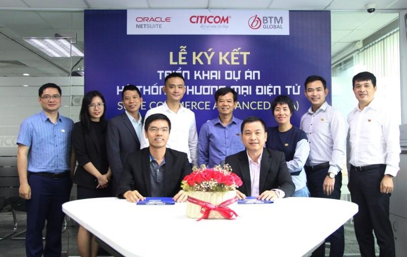 BTM Global Việt Nam triển khai Giải pháp Thương Mại Điện Tử của Oracle NetSuite cho Citicom