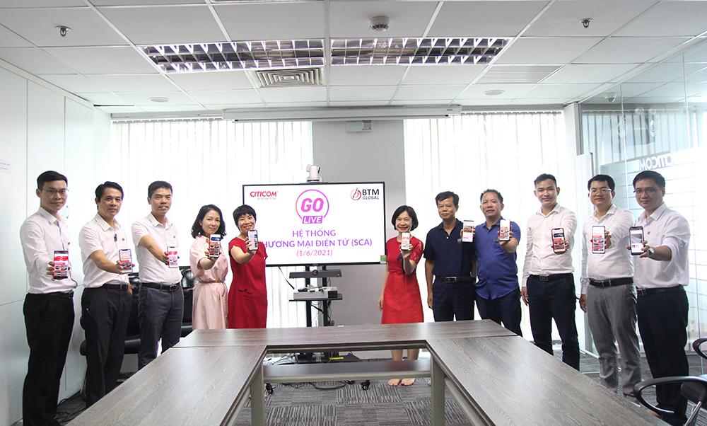 Ban Lãnh đạo cùng các Thành viên của dự án